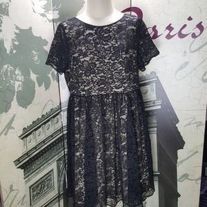 Torrid Plus Size Lace Swing Dress Size 2X